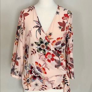 Sanctuary Wrap Blouse